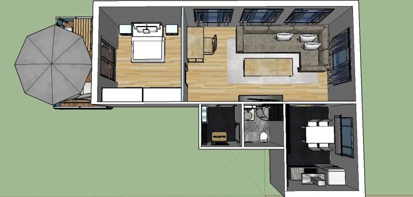 Lägenhet 3d